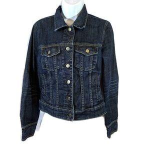 J Crew Denim Jacket Size Small Style 75007